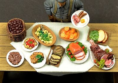 Reality In Scale 1:35 Prepared Food Set 3 - Resin Diorama Accessory #35262