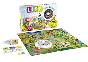 the game of life board game hasbro ebay
