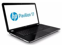 **Hi-Spec** HP Pavillion 17 Notebook i5 2.5ghz, 8gb Memory, 1tb Hard Drive - As New, hardly Used
