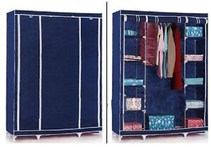 TI FOLDING WARDROBE CUPBOARD ALMIRAH XII  DOUBLE NB available at Ebay for Rs.3175