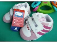 Brand New - Adidas Crib Trainers