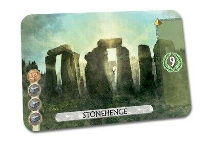7 Wonders Duel: Stonehenge - Promo NEW!