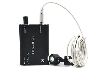 Led Head Light Lamp For Dental Surgical Medical Binocular Loupes Battery 100 Hh