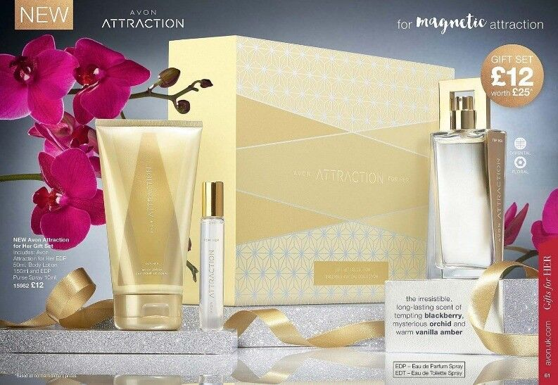 AVON - Attraction for Her Gift Set