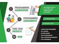 24 Hrs Help - Coursework, Assignment, Database, JAVA, PHP, VB, SQL, XML, C, C++, C#, MYSQL, ASP, CSS