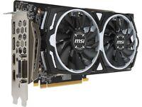 MSI RX 580 8GB OC