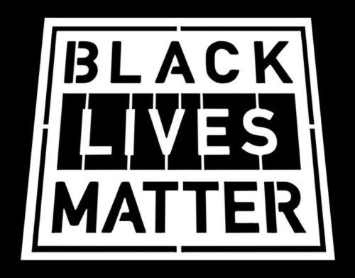 BLM / BLACK LIVES MATTER REUSABLE FONT STENCIL  *FREE USA S&H*  MULTIPLE SIZES