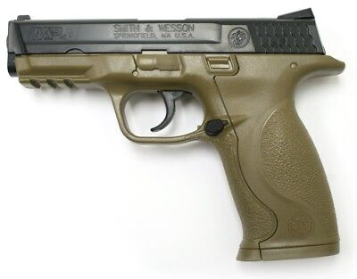 Smith & Wesson M&P Dark Earth Brown Military and Police CO2 Pistol - 0.177 cal