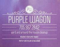 Purple Wagon- the little wagon that could