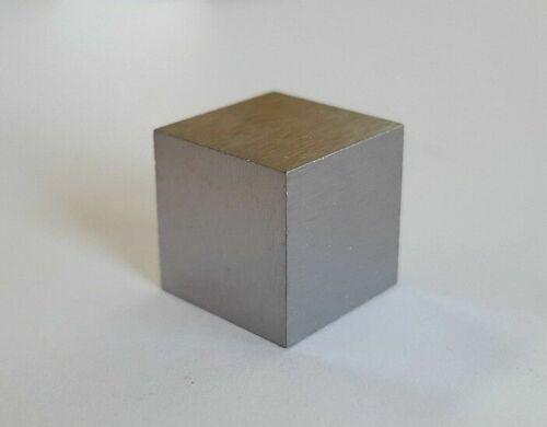 Tungsten Cube 1/2 Inch x 1/2 Inch x 1/2 Inch 99.95% Pure Tungsten Wolfram (W)