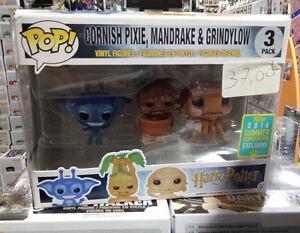 Cornish Pixie Mandrake Grindylow 3 pack - Funko POP! - Harry Potter - Italia - L'oggetto può essere restituito - Italia