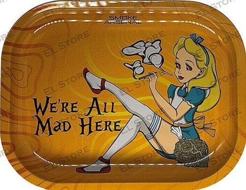 "Smoke Arsenal Premium Rolling Tray ""All Mad-S116"" 5.5"" x 7"""