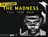 THE WEEKND CONCERT - 5 TICKETS - TUES NOV 3 @ ACC - $150each