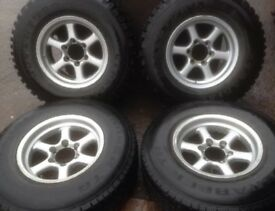 Isuzu wheels and tyres