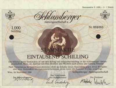 Schlumberger 1986 Wien Vöslau Goldeck 1000 ÖS Leibwächter Underberg Rheinberg