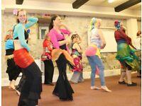 Beginners Belly Dance classes Mondays 6.30 - 7.30pm Sunderland Dance City