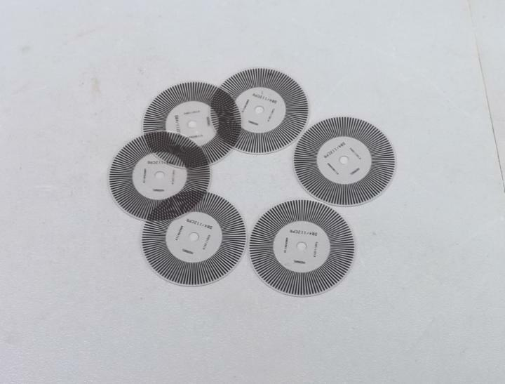 10PCS a lot Stainless steel M1-5 Photoelectric encoder Coded Disc 45mm//200 lines