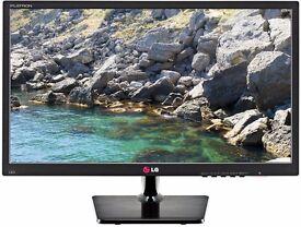 "LG PC SCREEN HD Widescreen - model FLATRON 24EN33T-B 24"""