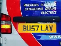 Plumbers Private Registration Plates