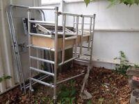 folding aluminium scaffold tower