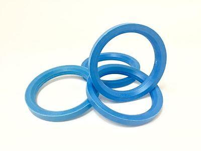 72.0 - 57.1 Spigot Rings, Set of 4 Spigot Ring for VW AUDI SEAT SKODA