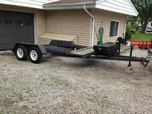 Autohaulaway ramps...they make  instant trailers