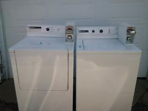COMMERCIAL WASHER AN DRYER