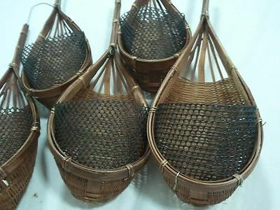 Bamboo Basket Hangers  (5 Pieces)  ...
