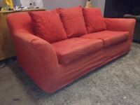 Red Sofa Bed -  DELIVERY