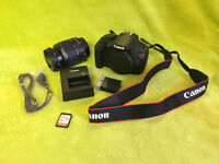 Canon EOS Rebel T5 DSLR Camera with 18-55mm Lense