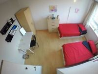 CENTRAL LINE ** HUGE DOUBLE or TWIN in BEST FLATSHARE ** MILE END / ZONE 2