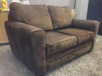 Brown Love Seat -  DELIVERY