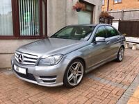 Mercedes C Class C220 CDI AMG Sport Edition 125, '61' Reg, Auto, FSH, High Spec, Excellent Condition