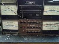 Vintage Allen Automotive Oscilliscope