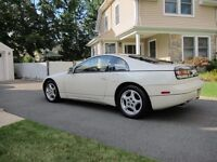 Genuine 1990-1999 Nissan 300zx fairlady twin turbo star alloys + continental contact tyres 5x114
