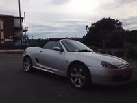 MG TF 135 1.8 SILVER CONVERTABLE LOW MILAGE £999