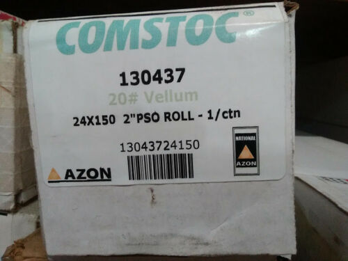 AZON 130437 20LB VELLUM, 24 X 150, 2IN CORE