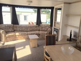 STATIC CARAVAN 2BED ROOKLEY COUNTRY PARK ISLE OF WIGHT NO MORE SITE FEES UNTIL 2018