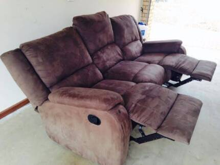 Brand new 3 seater sofa with inbuilt two recliners Murray Bridge Murray Bridge Area Preview