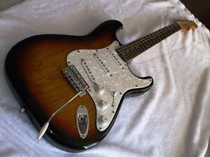 fender stratocaster pro-tone 1997 Strat 50s sunburst impeccable!