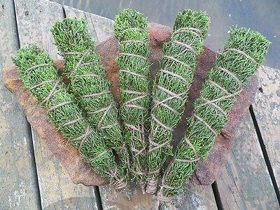 Native American Smudge Bundle Red Cedar Herb Sticks 5 Large Incense Cherokee