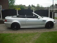 BMW 3 series E46 M3 soft top + hard top 2002 HEAD TURNER