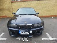 BMW M3 E46 Carbon Black, Grey Leather, 96k miles