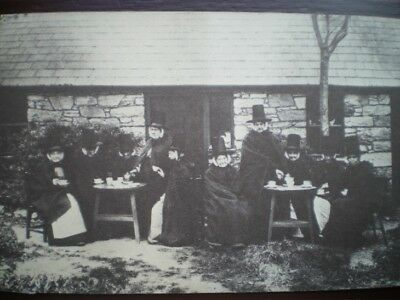 POSTCARD SOCIAL HISTORY WELSH TEA PARTY IN THE 1800'S