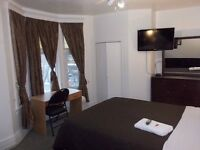 Furnished rooms short term and long term free WiFi