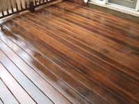 DECK STAINING.. HIRE ME TODAY