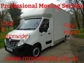 Full removals, man and van