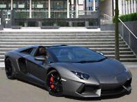 Lamborghini aventador for hire