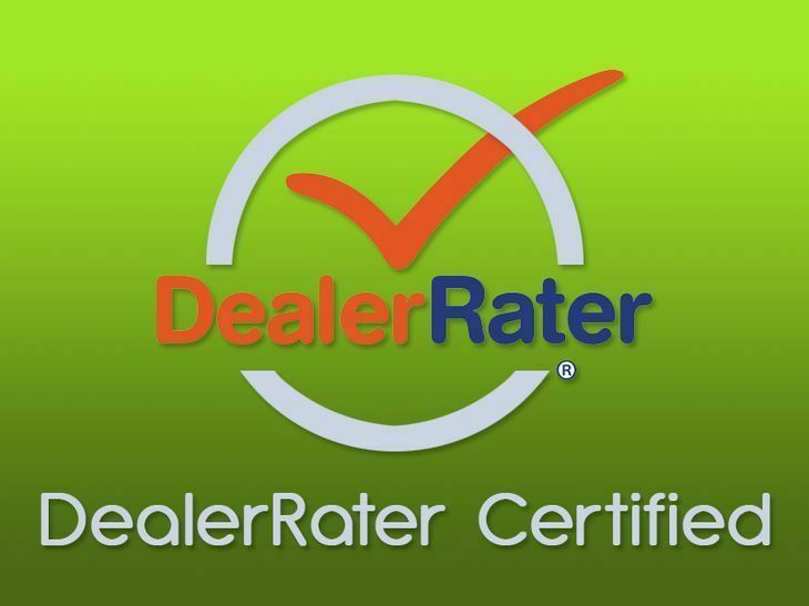 2017 DealerRater Texas Used Car Dealer of the Year! Come See Why!