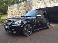 22 inch onyx Range Rover alloys